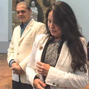 Peter Gualterus en Francesca Emma