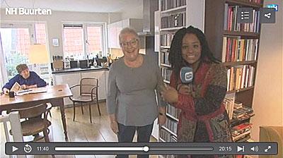 Marina Slot in item op RTV N-Holland, 16 januari 2017